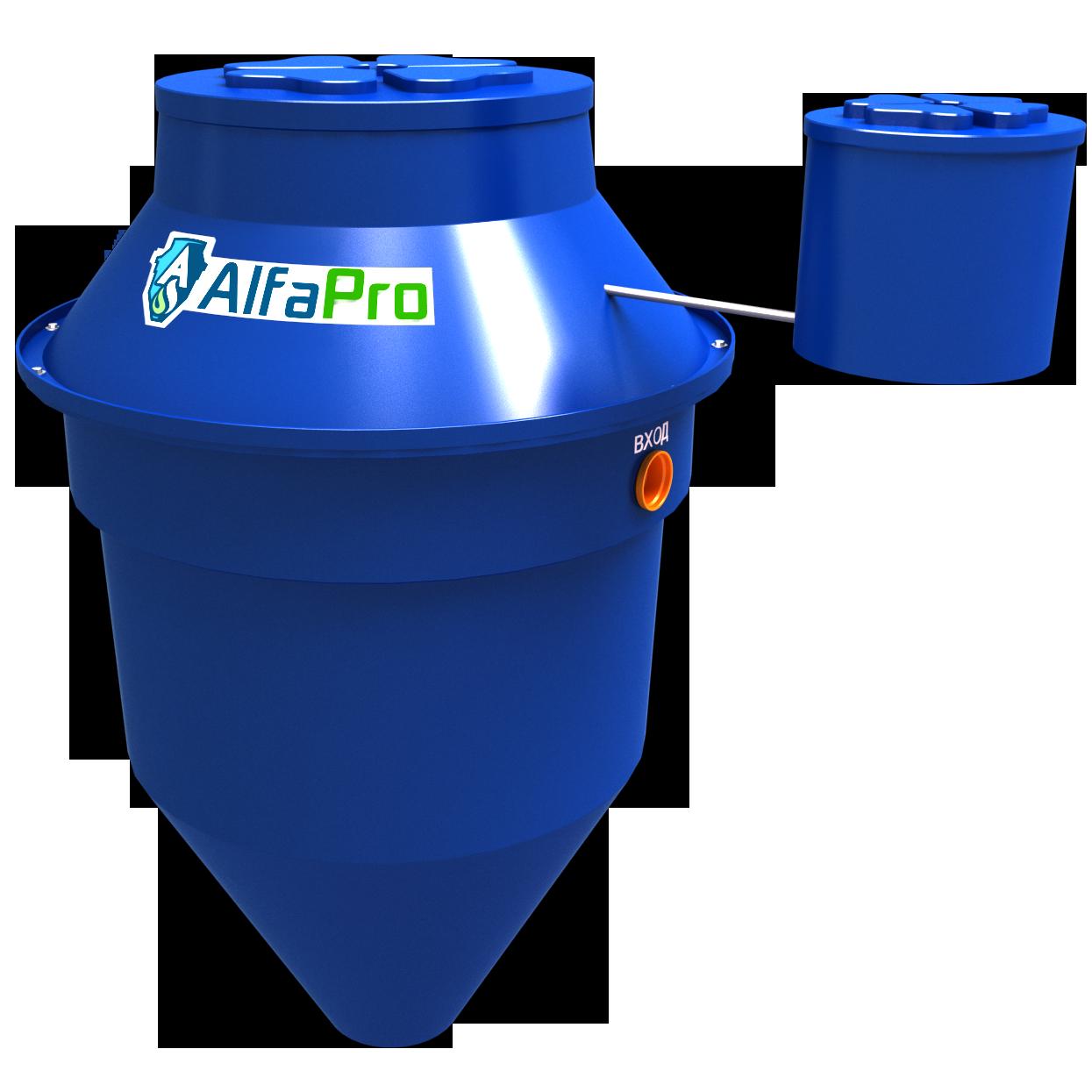 Автономная канализация (септик) Alfa Pro 0.8
