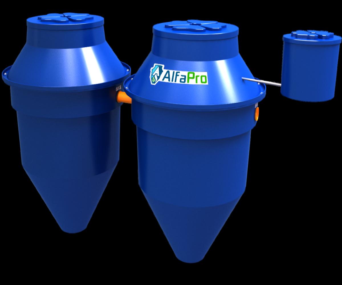Автономная канализация (септик) Alfa Pro 1.6